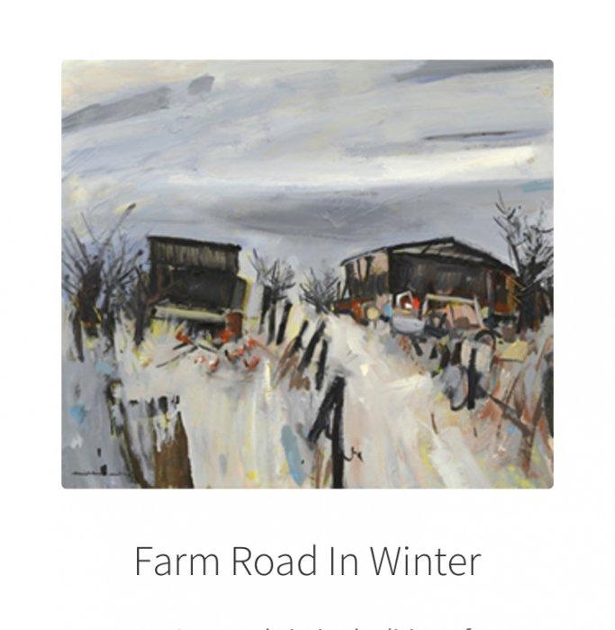 Farm-Road-In-Winter