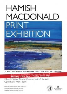 Hamish MacDonald Print Exhibition - Glencoe 2014 - Extended Dates