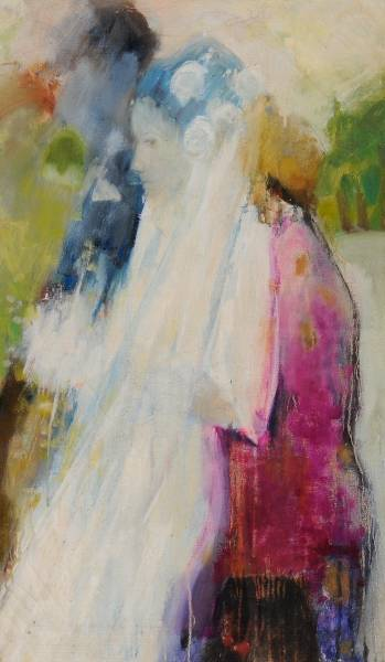 """The Wedding"" 1966. A Painting By Scottish Colourist Artist Hamish MacDonald"