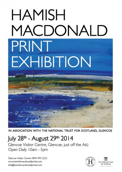 Glencoe Print Exhibition August 2014