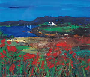Plockton Medium Litho Print