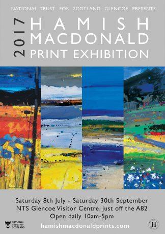 Hamish MacDonald Print Exhibition Glencoe poster 2017 Final WEB